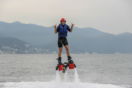 Flyboard Extreme Sport Adventure Stock Photo - Download ...
