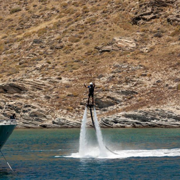 Flyboard - foto de acervo