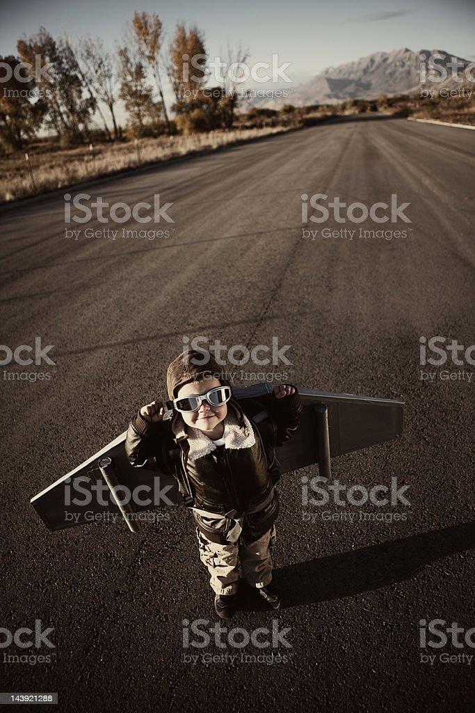 Flyboy - foto de stock