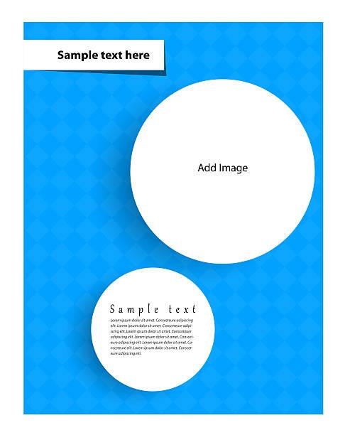 flyer design - flyer inspiration stock-fotos und bilder