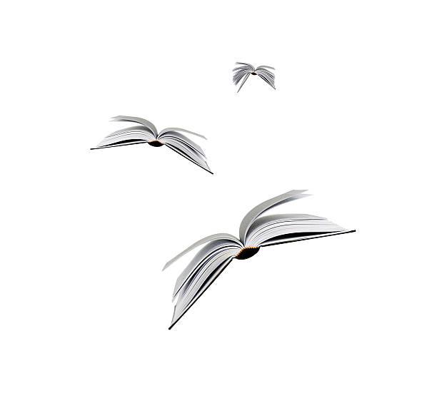 Cтоковое фото Летающий книги