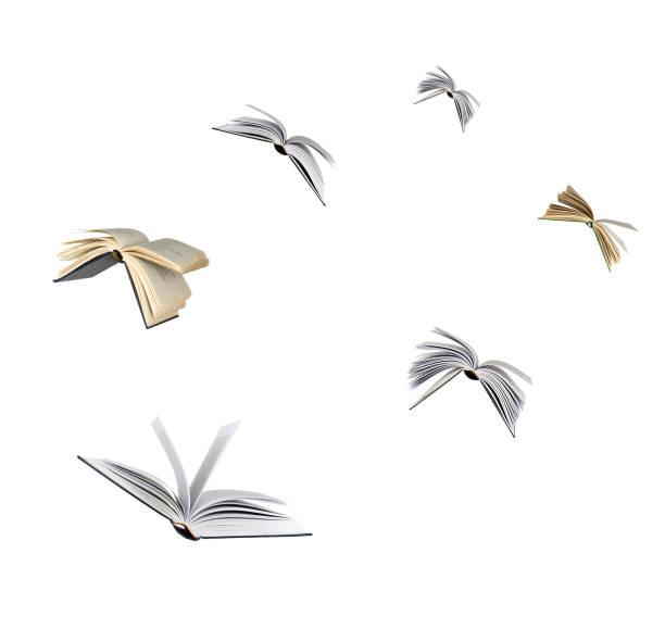 Cтоковое фото Flying books