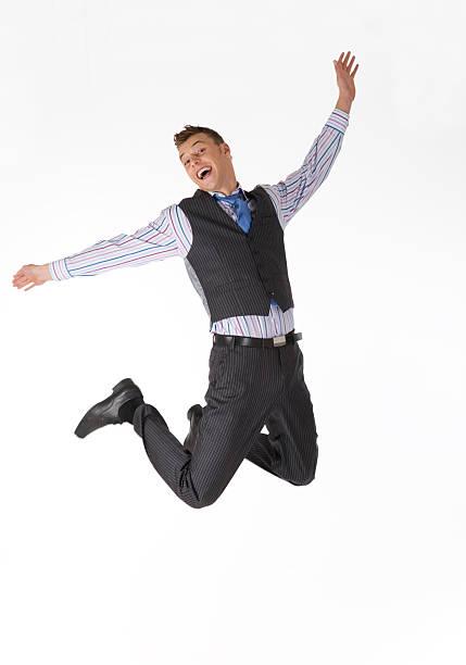 Flying Geschäftsmann XXL – Foto