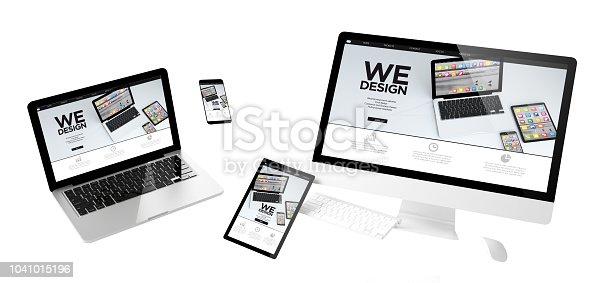 istock flying devices we design responsive website 1041015196