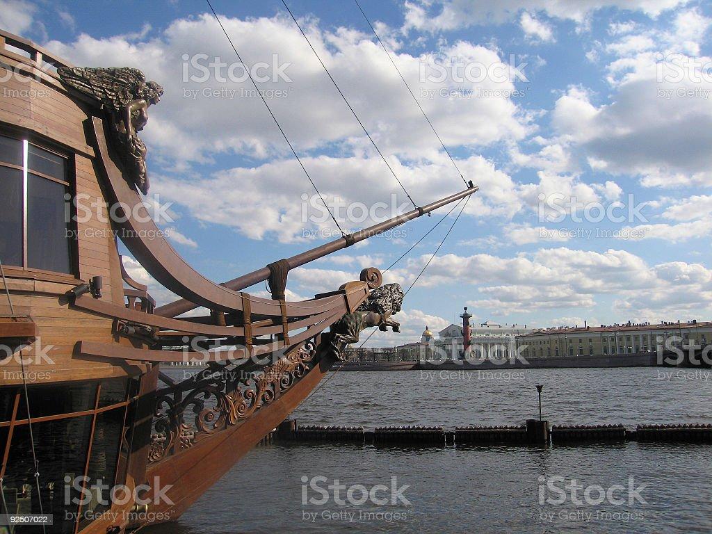 Flying Dutchman royalty-free stock photo