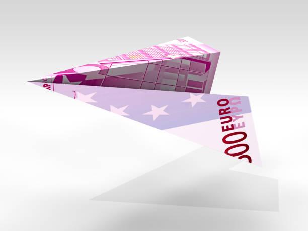 Fliegendes Euro-Flugzeug – Foto