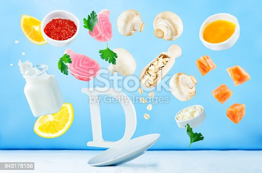 istock Flying foods rich in vitamin d 943178156