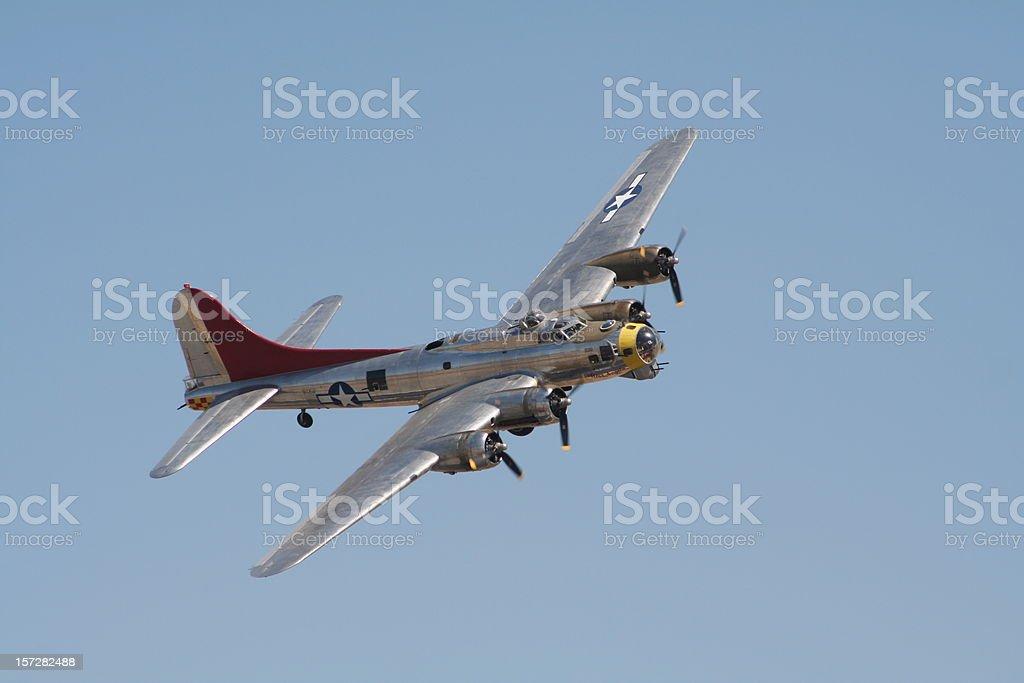 Bombardiere B-17 bomber - foto stock