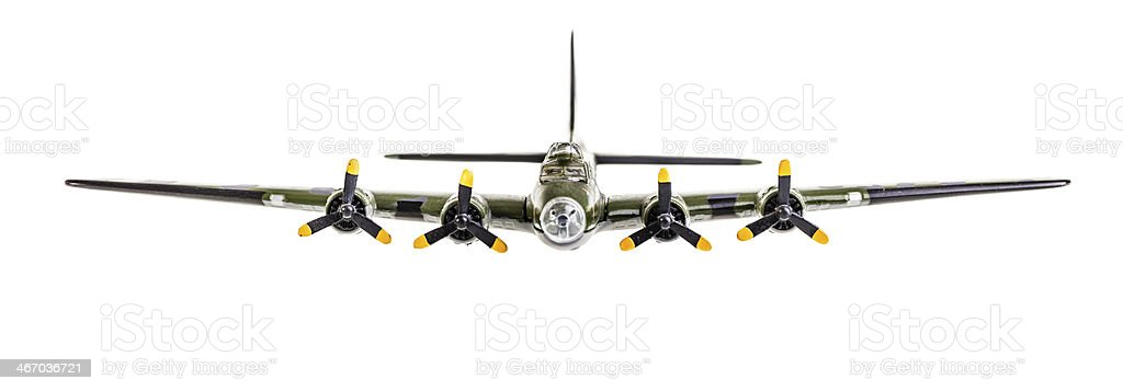 flying fortress - foto stock