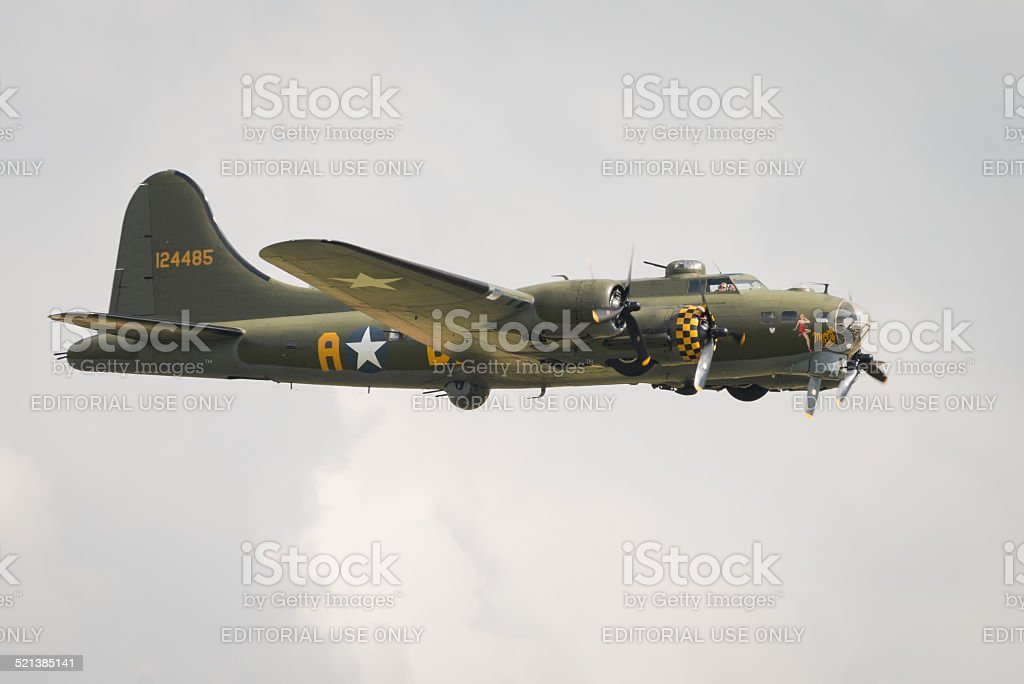 B17 Flying Fortress vintage aerei - foto stock