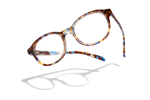 flying glasses - eyewear stock pictures, royalty-free photos & images