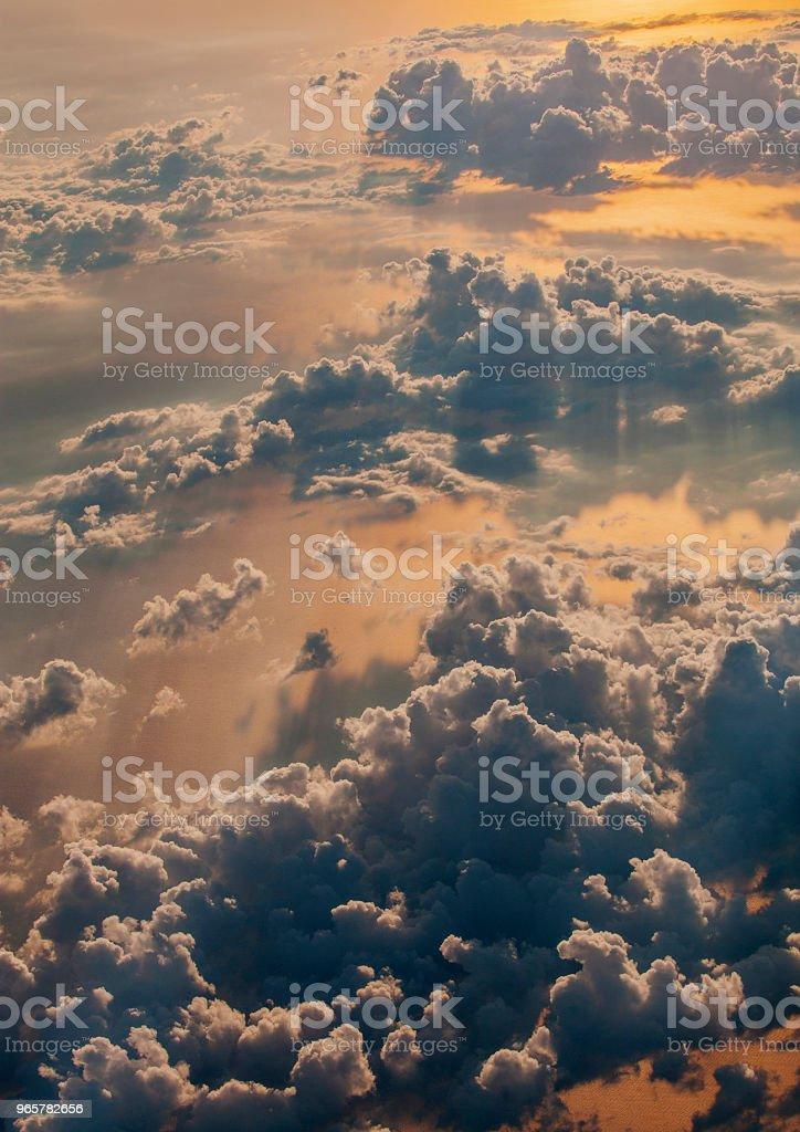 Hoog vliegen - Royalty-free Achtergrond - Thema Stockfoto