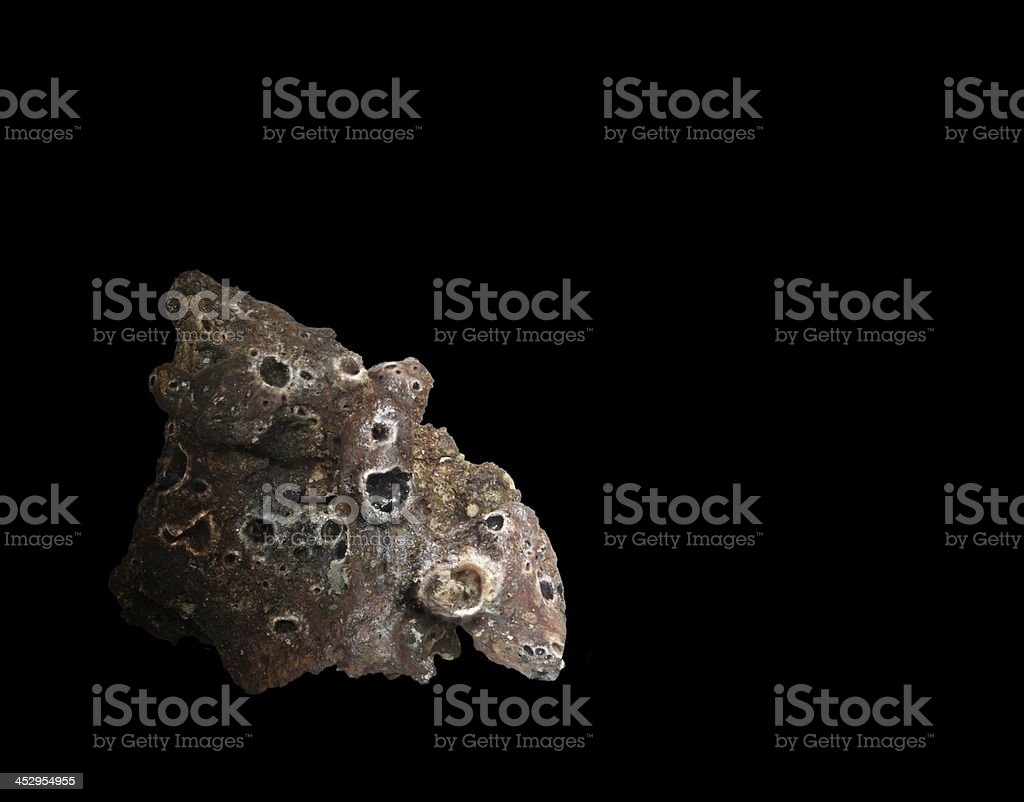 flying meteor stock photo