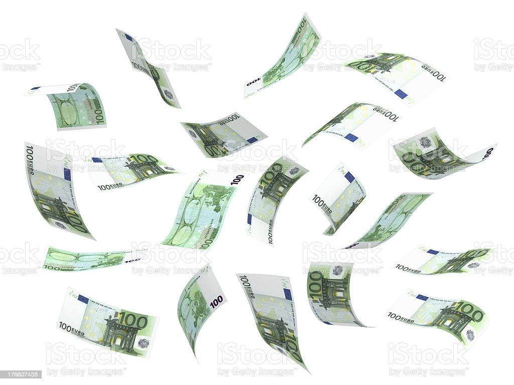 Fliegenden Geld (Euro – Foto