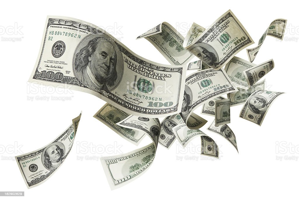 dollar stock photos flying money stock photo more pictures of american one 8429