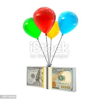 istock Flying Money 828795848