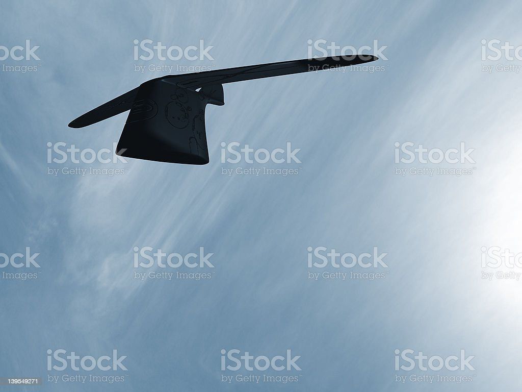 flying object stock photo
