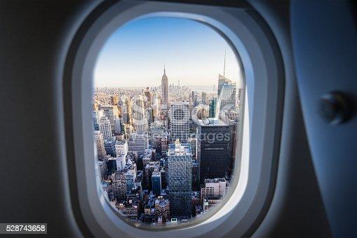Flying Over Manhattan