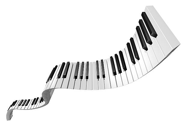 flying touches de piano - Photo