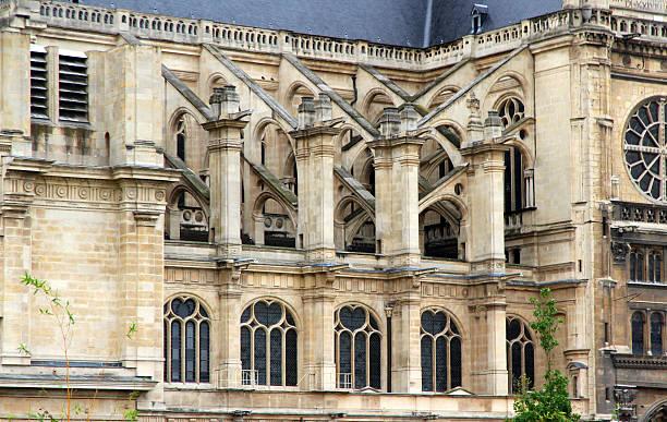 volante - saint eustache church foto e immagini stock
