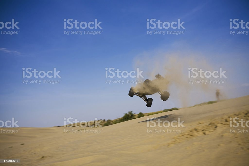 Flying RC Car stock photo