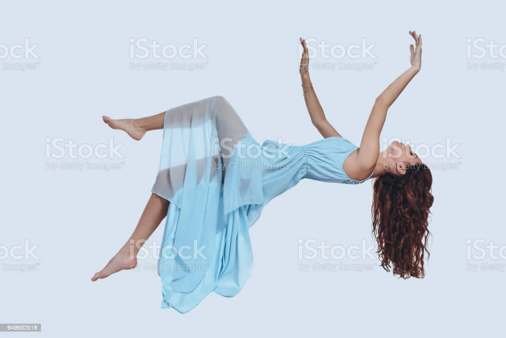 Flying so high. stock photo