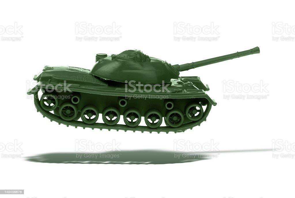 flying tank royalty-free stock photo