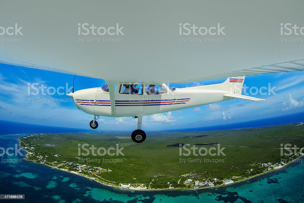 Flying tour royalty-free stock photo