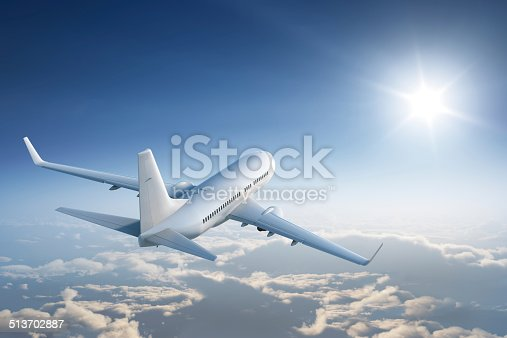 istock Flying towards the sun 513702887