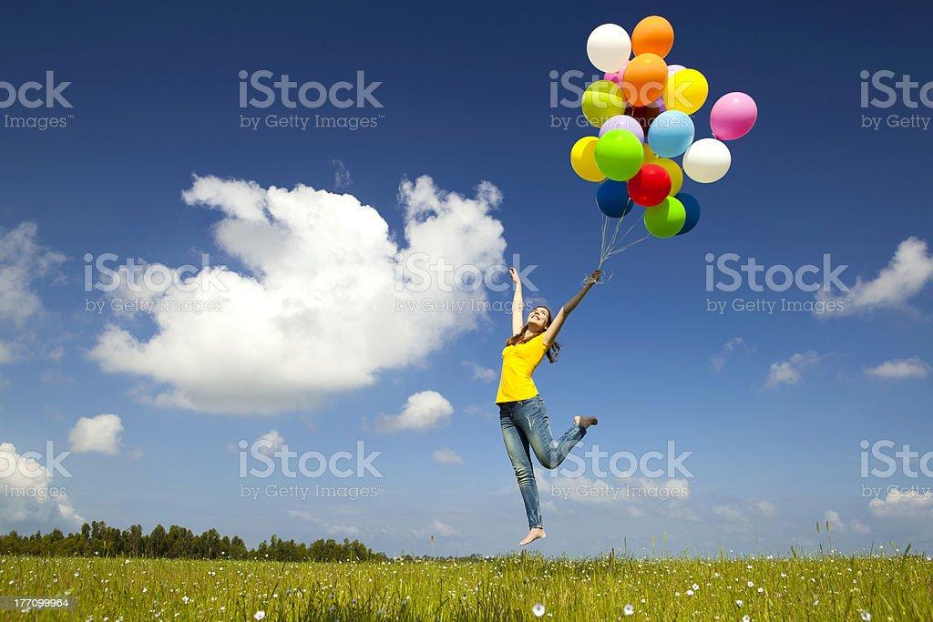 Fliegt mit Ballons – Foto