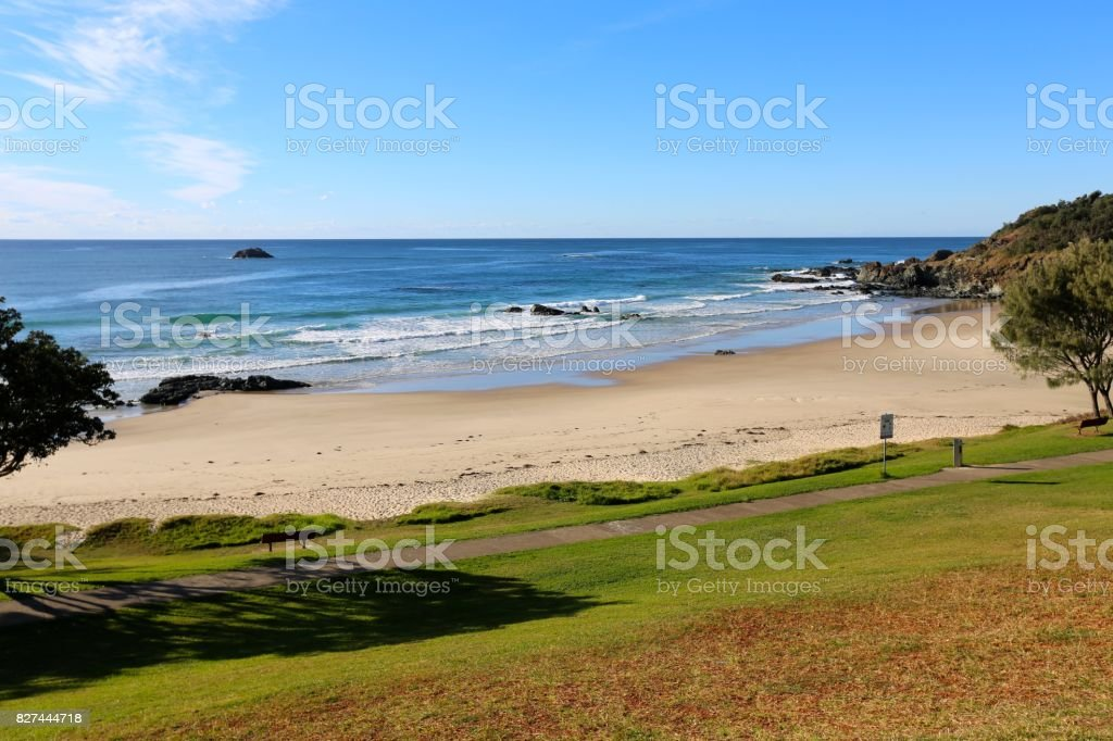 Flynn's Beach Port Macquarie NSW stock photo