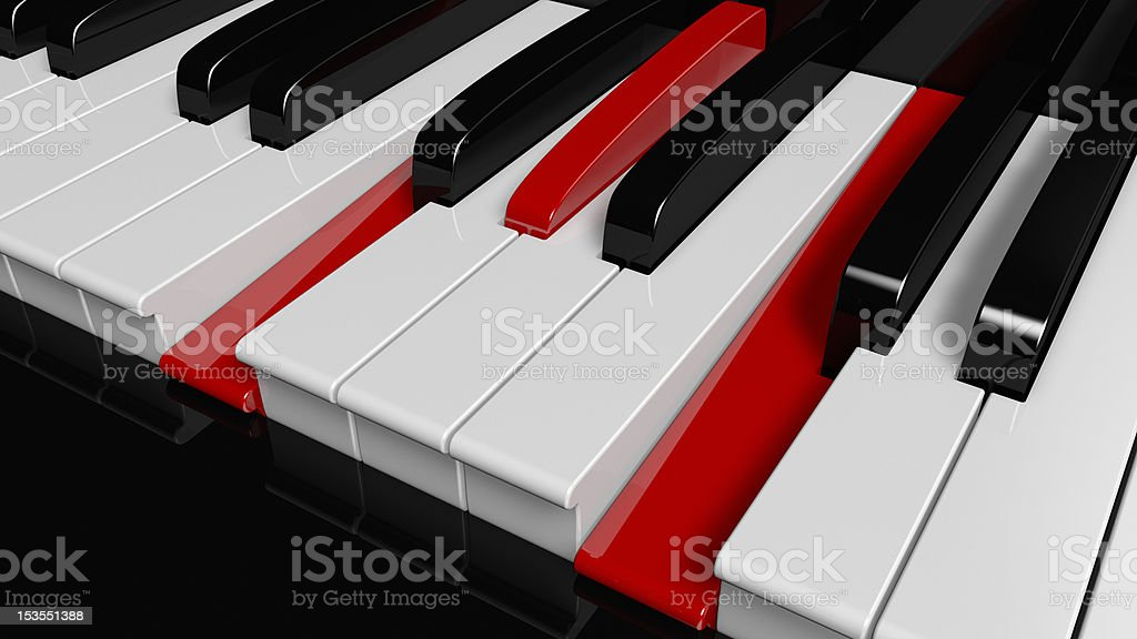 Fminor Piano Chord Stock Photo More Pictures Of Audio Equipment