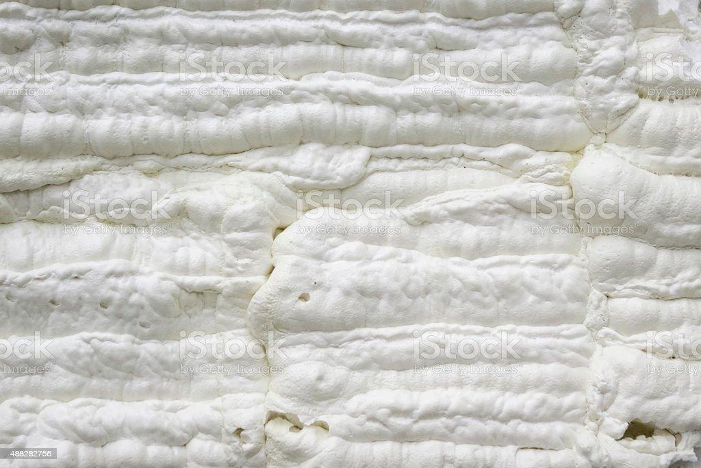 Foam construction stock photo