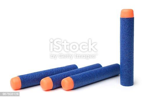 istock Foam soft bullets 957503126