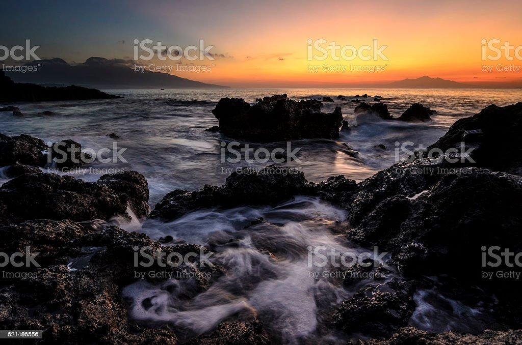 foaming rock photo libre de droits