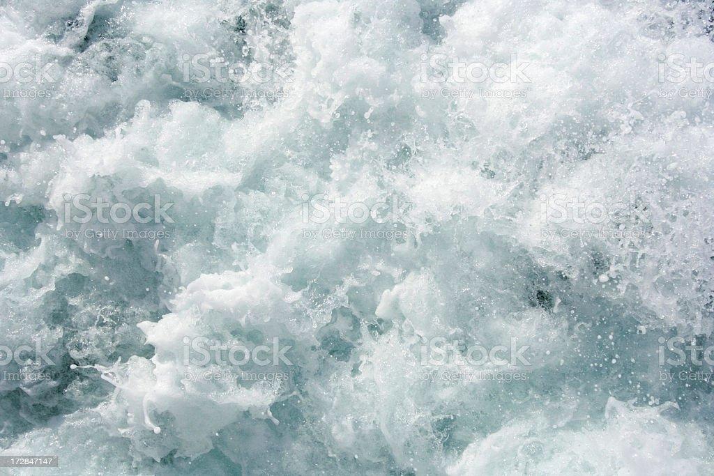 Foaming Water stock photo