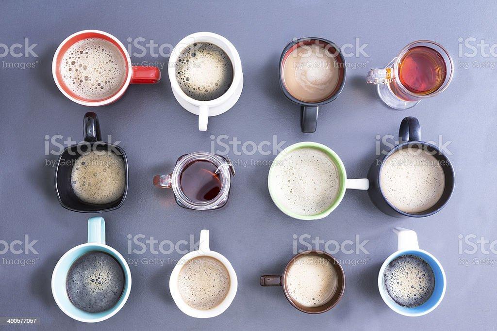 Foamy Caffeine For whole office stock photo
