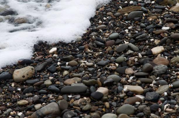 Foamy Shore stock photo