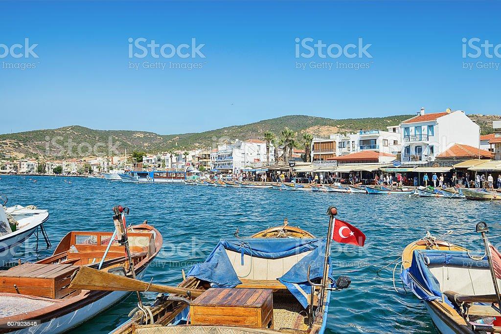 Foca, Izmir stock photo