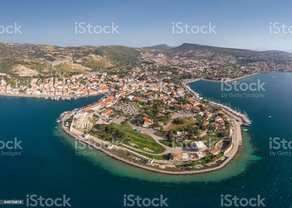 Foca, Izmir, Turkey stock photo