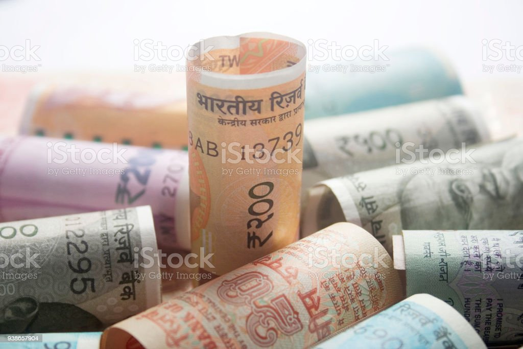 Focas On 200 Hundred Rupees Stock Photo & More Pictures of