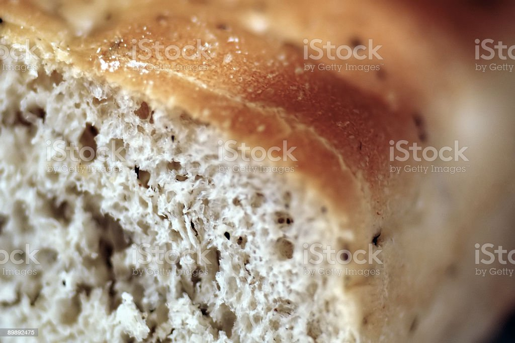 Foccacia upclose and personal royalty-free stock photo