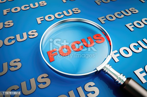 Focus - Concept, Accuracy, Aiming, Business