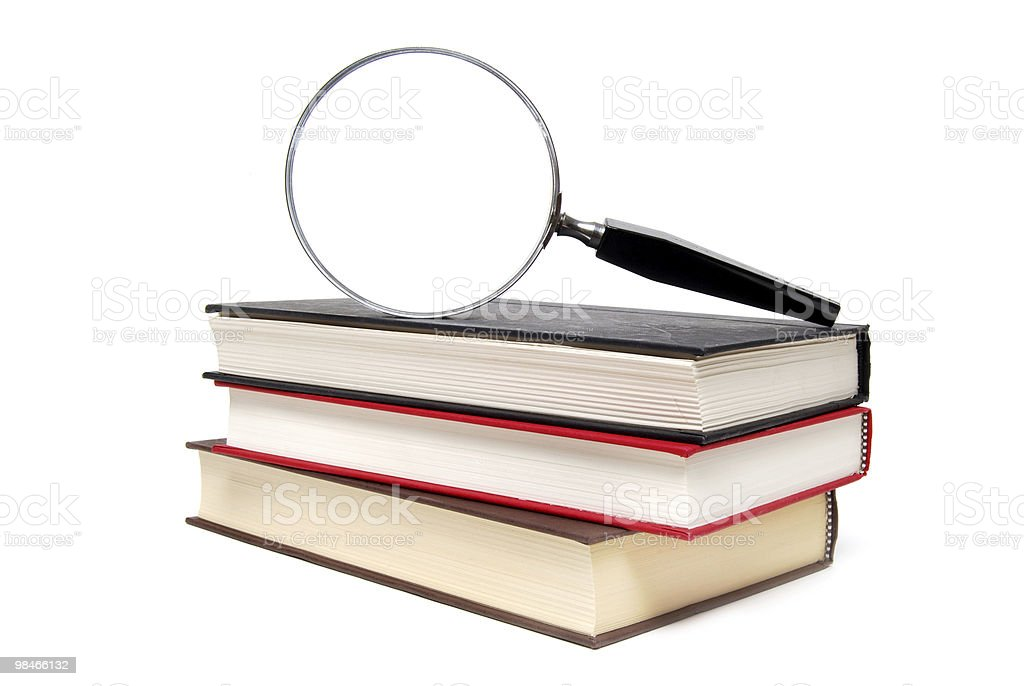 Focus on Books royalty-free stock photo