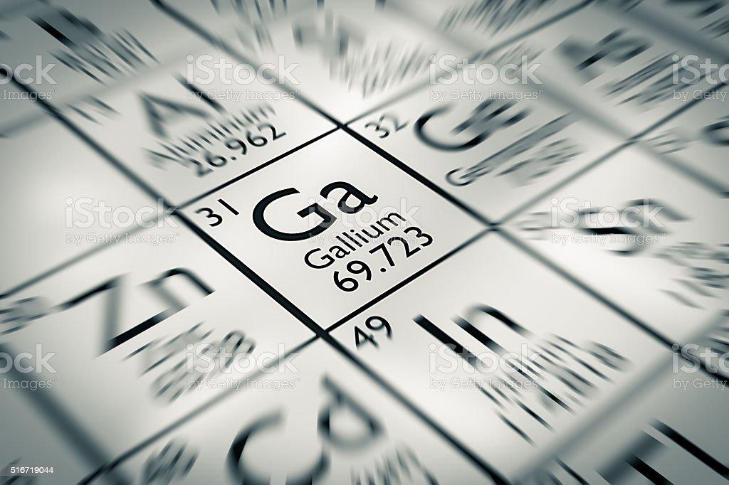 enfoque en galio elemento qumica del mendeleiev tabla de los elementos foto de stock libre de - Tabla Periodica De Los Elementos Galio