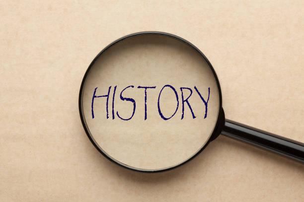 geçmişi odaklanın - timeline stok fotoğraflar ve resimler