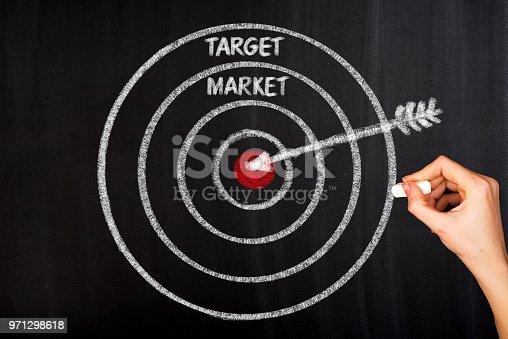 istock Focus on taeget market 971298618