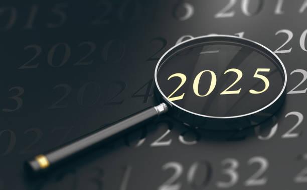 Jahr 2025 im Fokus – Foto
