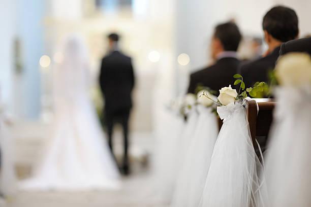 美しい花のウェディングデコレーション - 結婚式 ストックフォトと画像