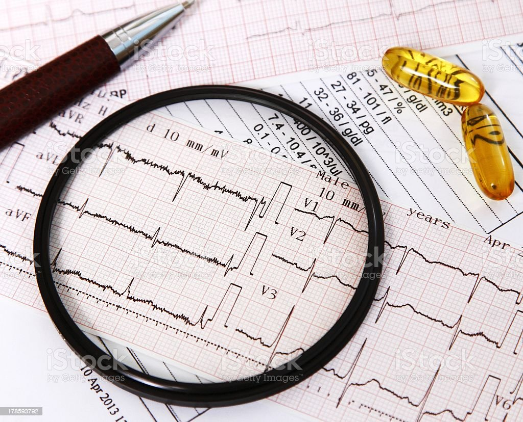 Focusing on heart diseases and their prevention royalty-free stock photo